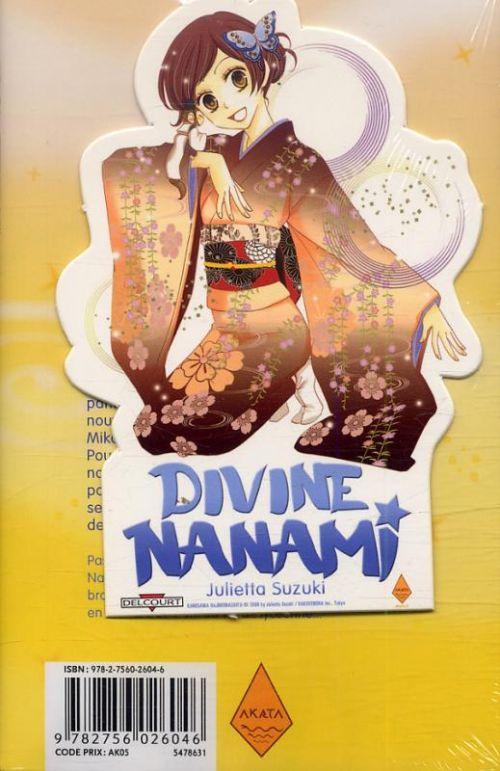 Divine Nanami T6, manga chez Delcourt de Suzuki