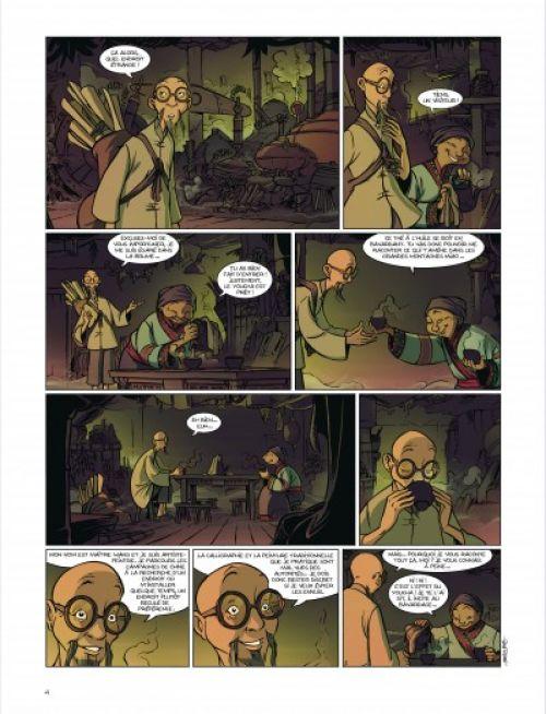 Géo BD T3 : Les enfants de l'ombre (0), bd chez Dargaud de Beka, Marko, Cosson