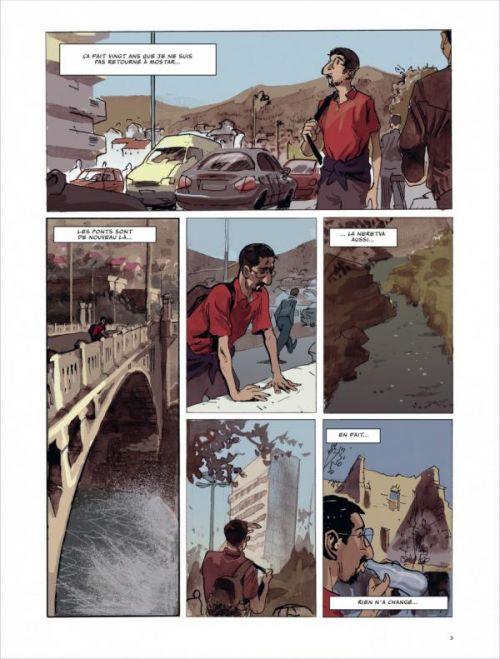 Meilleurs voeux de Mostar, bd chez Dargaud de Petrusa