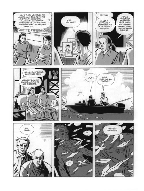 David Boring, comics chez Cornelius de Clowes