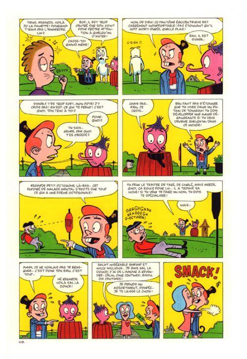 Eightball, comics chez Cornelius de Clowes