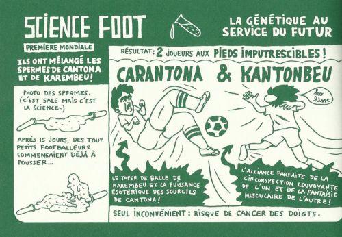 Science foot, bd chez Cornelius de Pierre la police