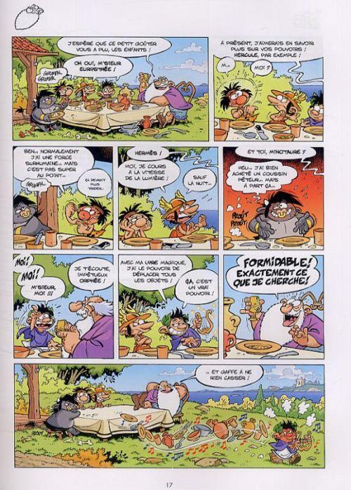 Les Petits mythos T2 : Le grand icare (0), bd chez Bamboo de Cazenove, Larbier, Amouriq, Mirabelle