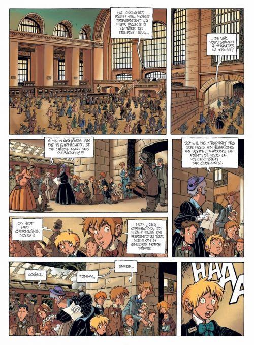 Le Train des orphelins – cycle 1, T1 : Jim (0), bd chez Bamboo de Charlot, Fourquemin, Smulkowski