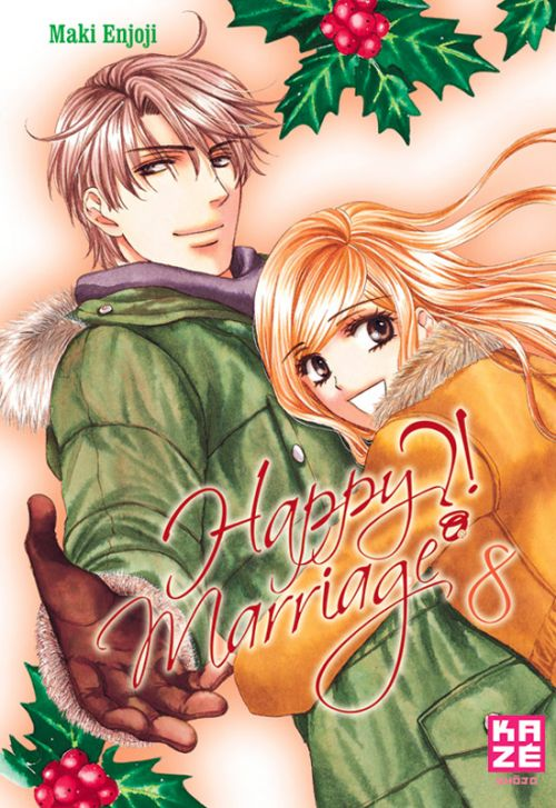 Happy marriage ?! – 1ère édition, T8, manga chez Kazé manga de Enjoji