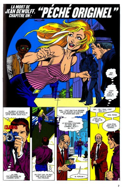 Spider-Man - La mort de Jean Dewolff, comics chez Panini Comics de David, Buckler, Buscema, Sharen, Jackson, Yomtov, Roussos