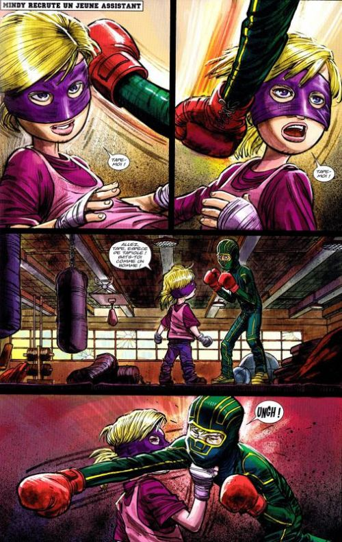 Kick-Ass – cycle 2, T1 : Restez groupés ! (0), comics chez Panini Comics de Millar, Romita Jr, White