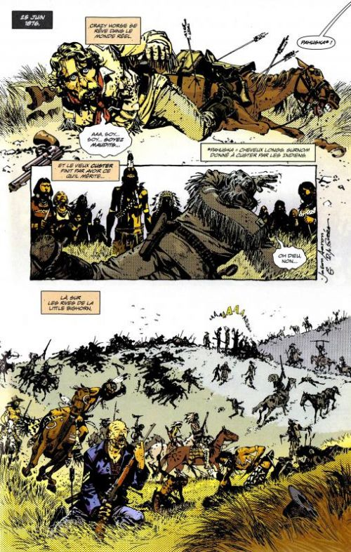 Scalped T5 : La vallée de la solitude (0), comics chez Urban Comics de Aaron, R.M. Guéra, Loughridge, Jock