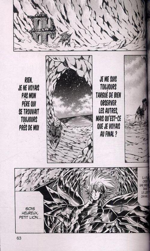 Saint Seiya - The lost canvas  T23, manga chez Kurokawa de Teshirogi, Kurumada