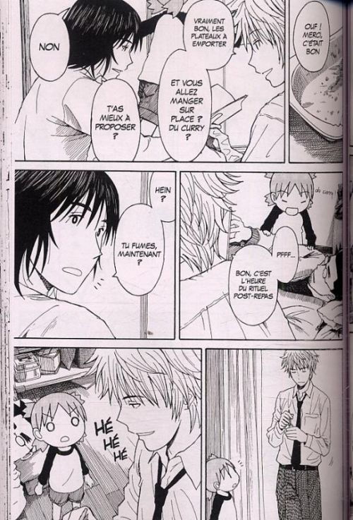 Yotsuba to T11, manga chez Kurokawa de Azuma