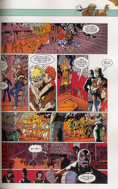 Karaté Boy T1 : Le dernier homme sur Terre (0), comics chez Ankama de Monsieur Poulpe, Mourier, Briones, Nido