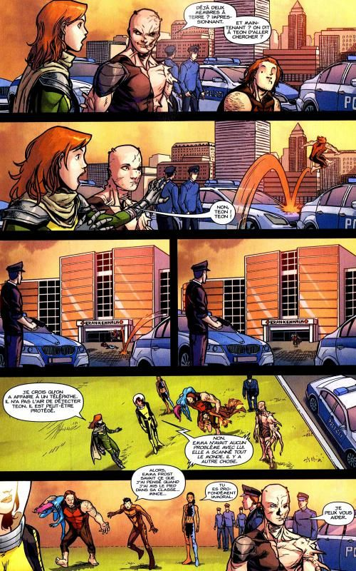 X-Men (revue) – Extra, T90 : Schism (2/3) (0), comics chez Panini Comics de Gillen, Seeley, McKelvie, Espin, SotoColor, Staples, Charalampidis, Esquejo