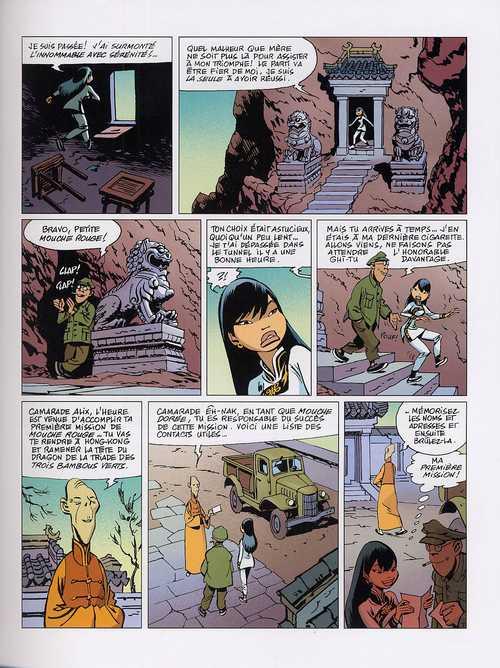 Tigresse blanche T1 : Au service secret du grand timonier (0), bd chez Dargaud de Yann, Conrad, Loïs