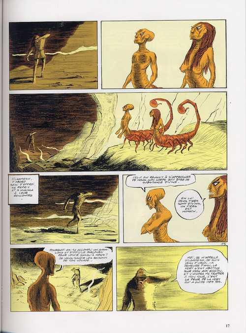 Gilgamesh T2 : Le sage (0), bd chez Dargaud de de Bonneval, Duchazeau, Walter