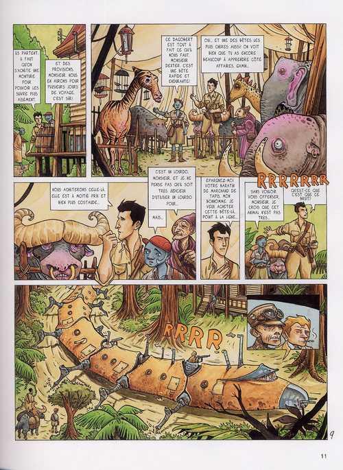 Dexter London T3 : Les sources du Rouandiz (0), bd chez Dargaud de Léo, Garcia, Moral