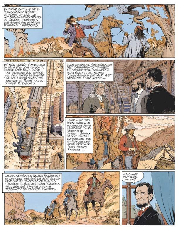 La jeunesse de Blueberry T17 : Le sentier des larmes (0), bd chez Hachette de Corteggiani, Blanc-Dumont, Blanc-Dumont