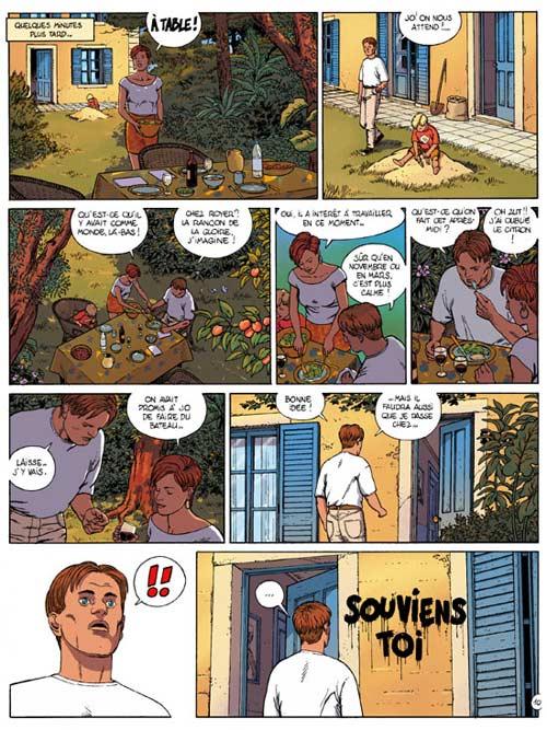 Frontière T1 : Souviens-toi (0), bd chez Le Lombard de Rodolphe, Marchal, Smulkowski