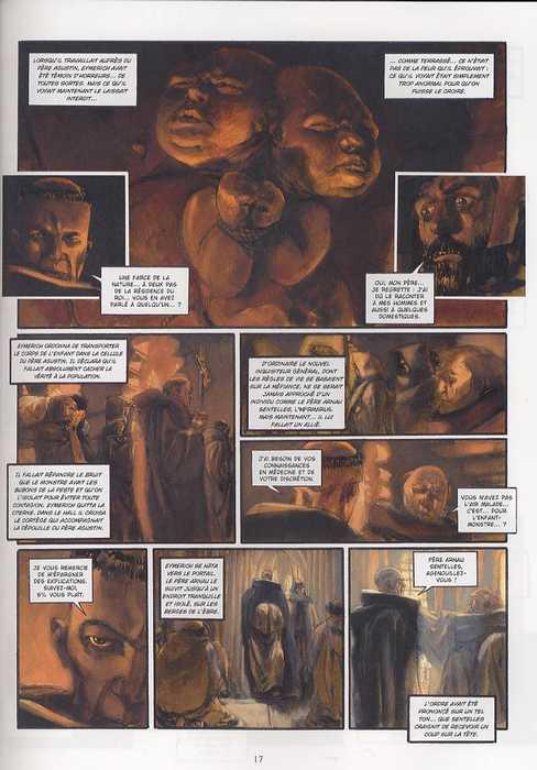 Nicolas Eymerich inquisiteur T1 : La déèsse (0), bd chez Delcourt de Zentner, Sala