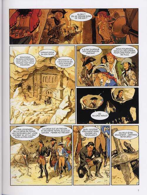 Le scorpion T6 : Le trésor du temple (0), bd chez Dargaud de Desberg, Marini