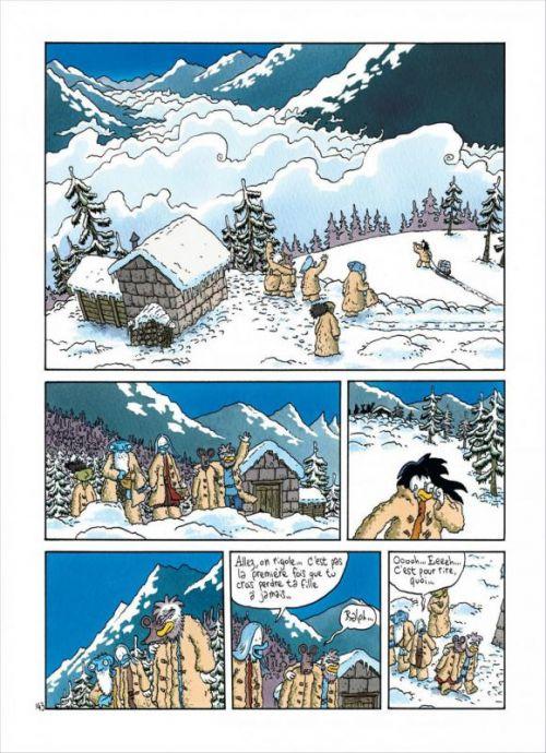 Ralph Azham – cycle 2, T4 : Un caillou enterré n'apprend jamais rien (0), bd chez Dupuis de Trondheim
