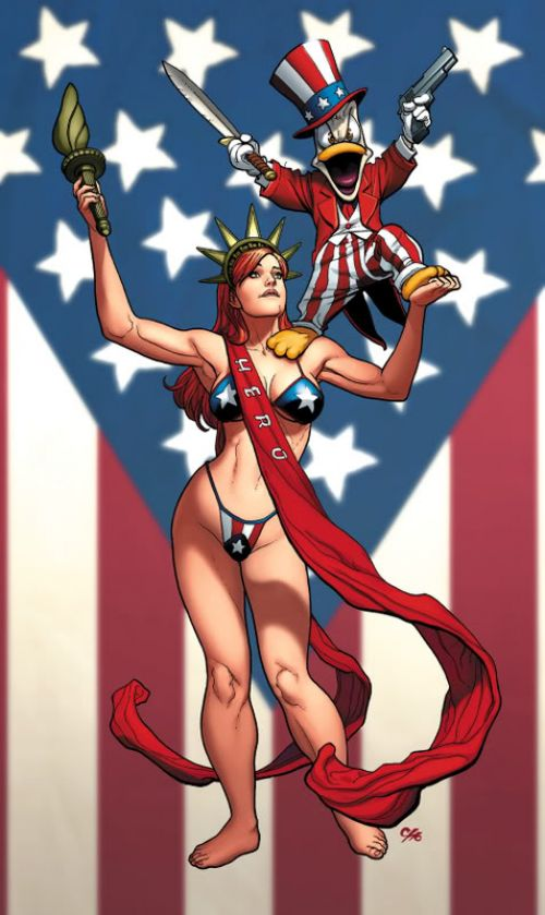 Apes & babes T1 : The art of Frank Cho (0), comics chez Image Comics de Cho