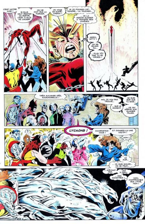 X-Men (revue) – Classic, T2 : L'épée levée (0), comics chez Panini Comics de Claremont, Davis, Oliver