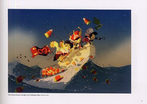Sunny Side : The art of Pascal Campion (0), bd chez Ankama de Campion