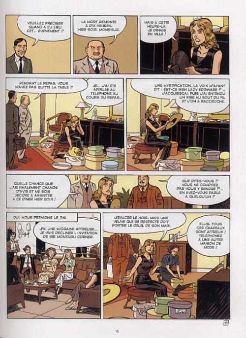 Agatha Christie T22 : le couteau sur la nuque (0), bd chez Emmanuel Proust Editions de Marek, Bouchard