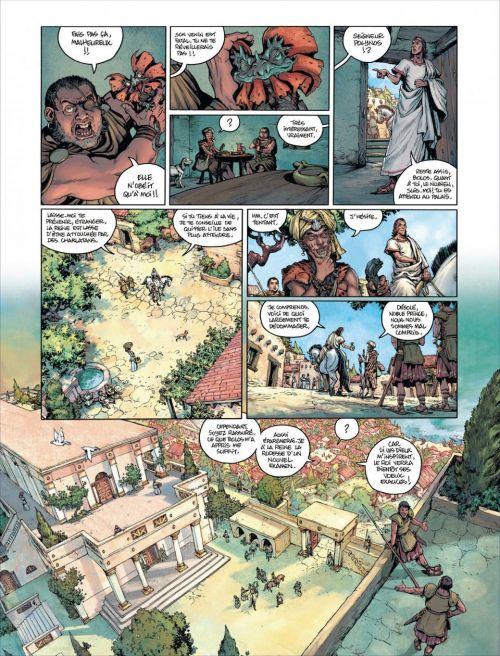 Golias T1 : Le roi perdu (0), bd chez Le Lombard de Le Tendre, Lereculey, Stambecco