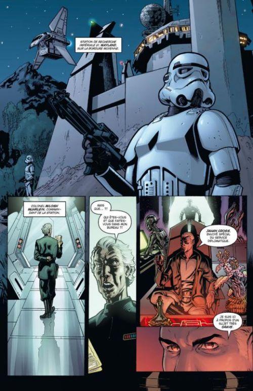 Star Wars - Agent de l'Empire T1 : Projet éclypse (0), comics chez Delcourt de Ostrander, Roux, Crety, Hugonnard-Bert, Dzioba