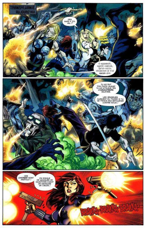 Fear Itself – The Fearless, T2, comics chez Panini Comics de Bunn, Yost, Bagley, Eaton, Pelletier, Wilson, Mounts, Adams