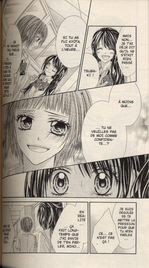Tsubaki love T9, manga chez Panini Comics de Kanan