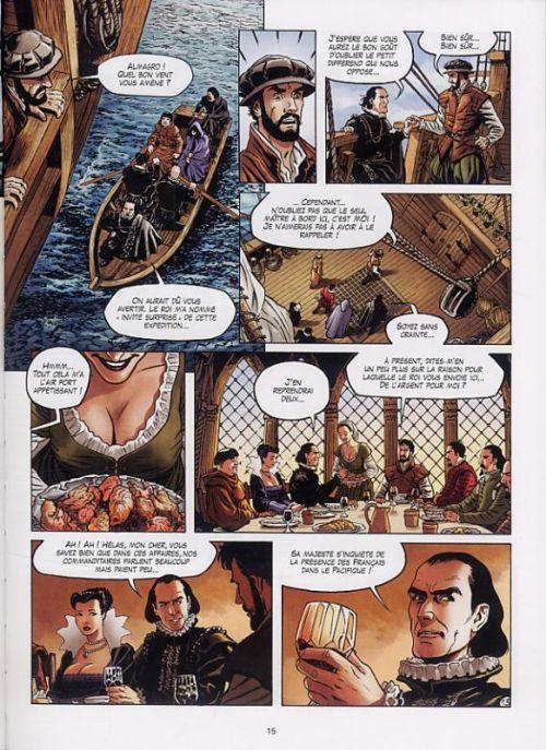 L'Or des fous T1 : L'expédition (0), bd chez Soleil de Di Giorgio, Olivares, Facio