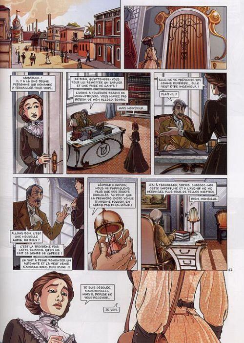 Princesse Sara – cycle 2, T5 : Retour aux Indes (0), bd chez Soleil de Alwett, Moretti, Duclos