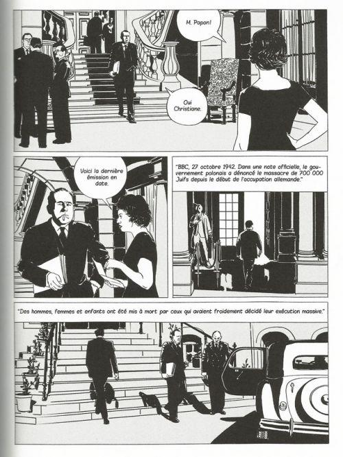 Crimes de Papier : Retour sur l'affaire Papon (0), bd chez Actes Sud BD L'An 2 de Sebrien, Bertholom