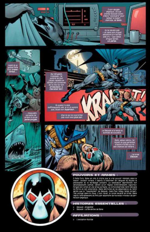 La revanche de Bane, comics chez Urban Comics de Beatty, Dixon, Nolan, Roy, Miller, Giddings, Barreto, Fabry
