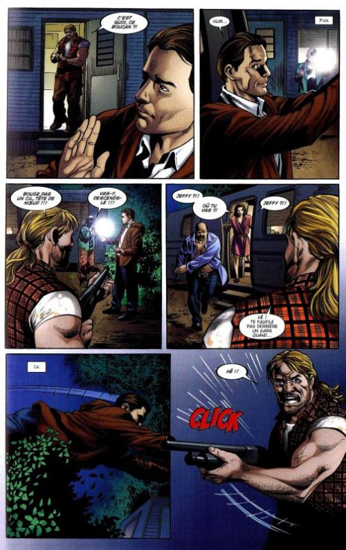 Castle T1 : Richard Castle présente La dernière aube, une histoire de Derrick Storm (0), comics chez Panini Comics de Deconnick, Bendis, Medina, SotoColor, Staples, Pagulayan