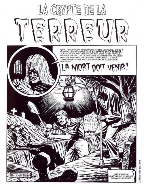 Tales from the Crypt T1, comics chez Akileos de Craig, Fox, Gaines, Feldstein, Kurtzmann, Kamen, Wood, Fraccio, Roussos, Ingels, Toulhoat