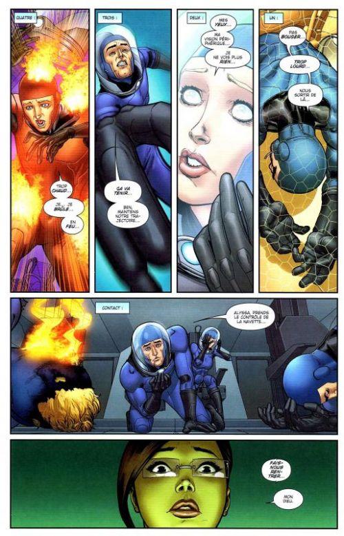 Season One : Fantastic Four (0), comics chez Panini Comics de Aguirre-Sacasa, Marquez, Guru efx, Tedesco
