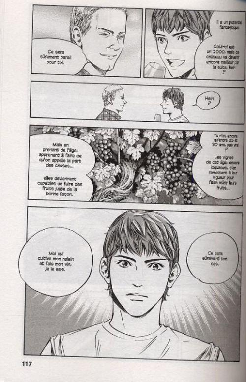 Les gouttes de Dieu T24, manga chez Glénat de Agi, Okimoto
