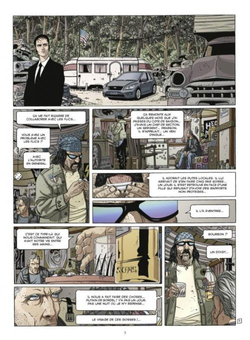 Secrets bancaires USA – cycle 2, T4 : In God we trust (0), bd chez Glénat de Richelle, Hé, Dupeyrat
