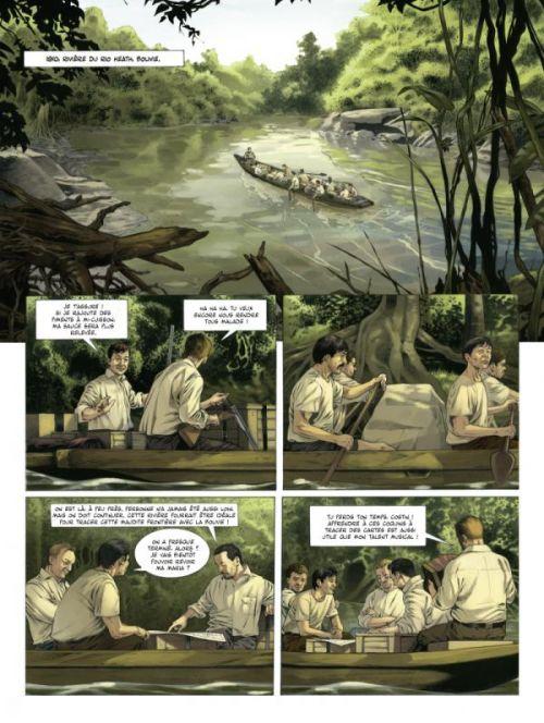 Fawcett T1 : Les citées perdues d'Amazonie (0), bd chez Glénat de Izu, Bocci, Sintes, Makma