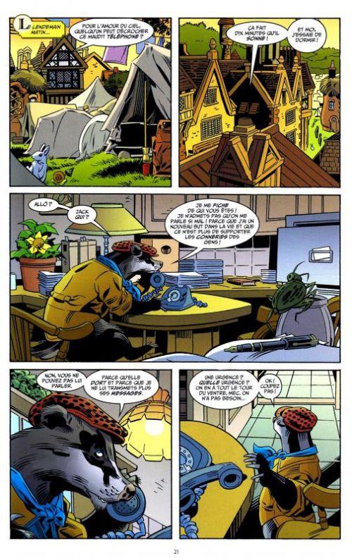 Fables – Softcover, T16 : La grande alliance (0), comics chez Urban Comics de Sturges, Willingham, Buckingham, Akins, Braun, Vozzo, Loughridge, Ruas