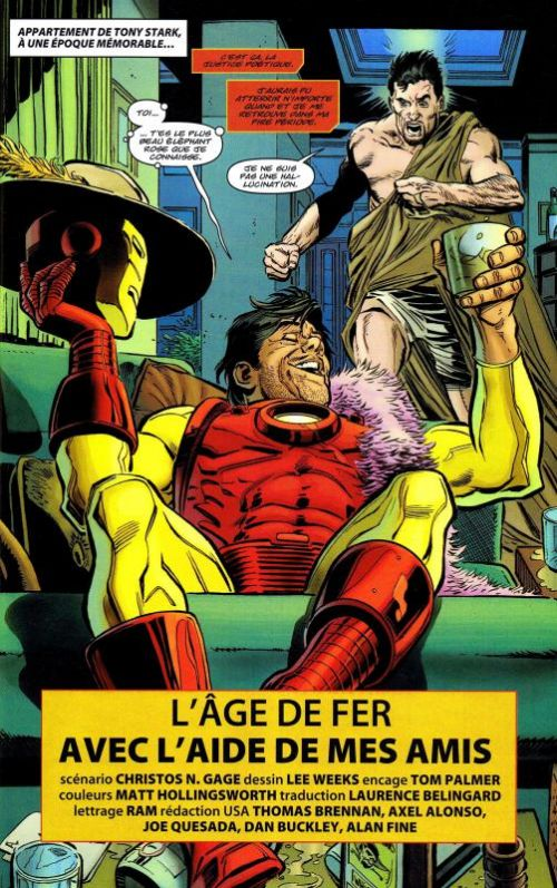 Marvel Saga – V 1, T15 : The Iron Age (1/2) (0), comics chez Panini Comics de Williams, Van Meter, Gage, Dragotta, Isaaks, Oliver, Weeks, Gandini, Mossa, Simpson, Hollingsworth, Olivetti
