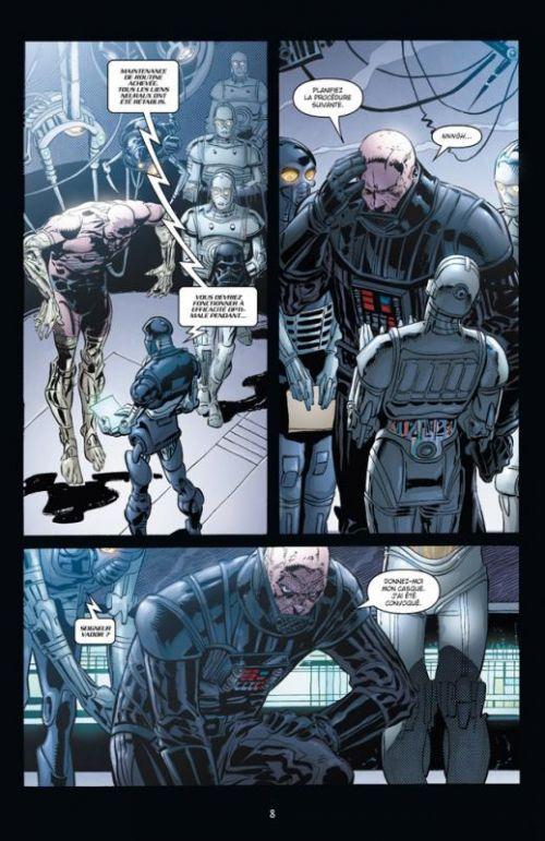Star Wars - Le côté obscur – Le côté obscur, T12 : Dark Vador - Mission fatale (0), comics chez Delcourt de Blackman, Leonardi, Dzioba, Wheatley