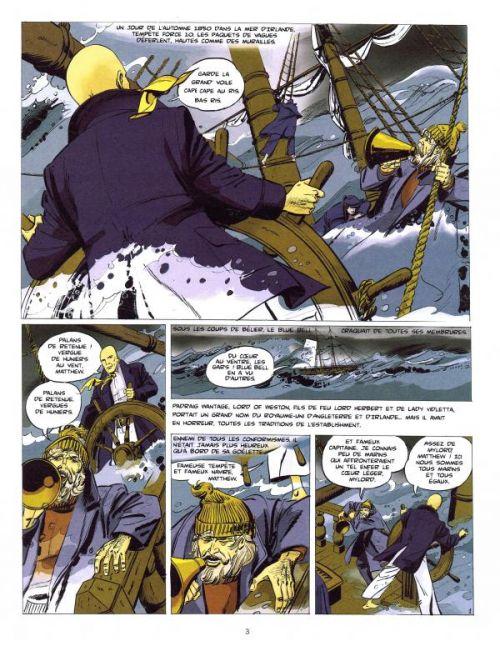 Padraig T1 : Le chant de l'Irlande (0), bd chez Grand West Editions de Ollivier, Lenvers, Gicquel