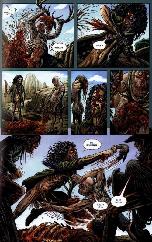 Crossed T4 : Psychopathe (0), comics chez Panini Comics de Lapham, Caceres, Digikore studio, Burrows