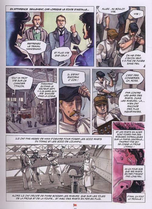 Mystères et secrets du Titanic, bd chez Fetjaine de Gaët's, Neri, Park, Partel, Chandre, Ruggeri, Mermoux