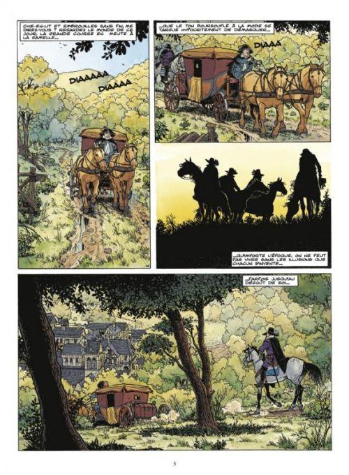 Les chemins de Malefosse T20 : Quartus (0), bd chez Glénat de Bardet, Goepfert, Faucon