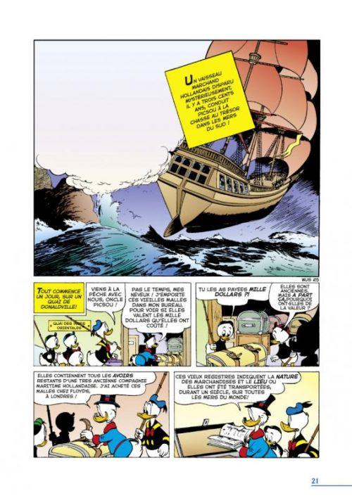 La Dynastie Donald Duck T9 : Le trésor du Hollandais volant et autres histoires (0), comics chez Glénat de Barks